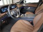 Mercedes-Benz S-class interior