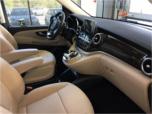 Mercedes-Benz V-class minivan interior Krakow Poland