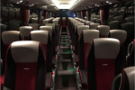 Hire Setra coach interior Krakow Poland