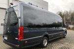 Mercedes-Benz Sprinter minibus back Krakow Poland