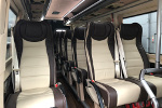 Mercedes-Benz Sprinter minibus interior Krakow Poland
