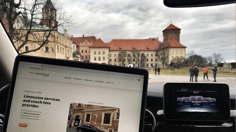 Transtour Firma Wojnarowski Wawel Castle Krakow Mercedes