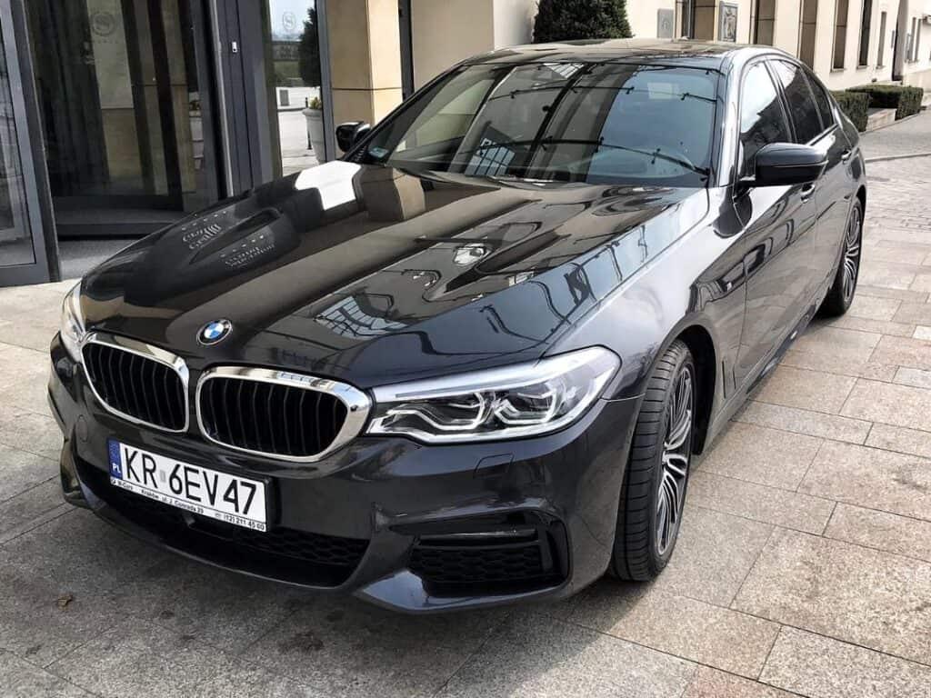 Limuzyna na wynajem BMW Serii 5 Sheraton Grand Krakow