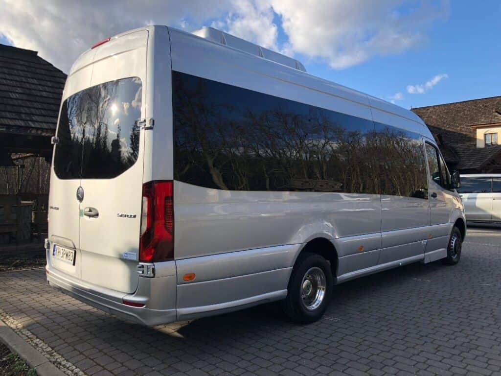 Mercedes-Benz Sprinter minibus with driver hire